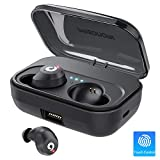 Bluetooth Earbuds Wireless Headphones Bluetooth Headset Wireless Earphones IPX7 Waterproof 72H Playtime Bluetooth 5.0 Stereo Hi-Fi Sound with 2200mAH Charging Case (Black)