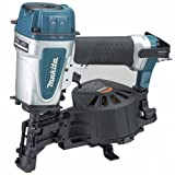 Makita AN453-R 15 Degree 3/4 in. - 1-3/4 in. Coil Roofing Nailer (Renewed)