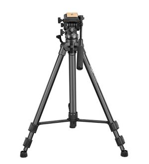 Digitek DPTR-880 Pro Lightweight Tripod (Maximum Load 15kgs), 5.45 Feet Tall Digital SLR & Video Cameras, Made Aluminium Material (DPTR 880 PRO)