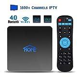 2GB RAM 16GB ROM IPTV Receiver Box 2019 New 4K IPTV Subscription Box Over 1600 Live Channels Including Asian/USA/CA/Europe/JP/Arabic/Brazil/India Programs