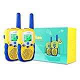 Lydaz Walkie Talkies for Kids, 22 Channels 3 Miles Long Range Electronic Two Way Radios with Flashlight, Indoor Outdoor Play Adventure Toys Gift for Boys Girls Age 3 4 5 6 7 8 9 10 Years Old and Adult
