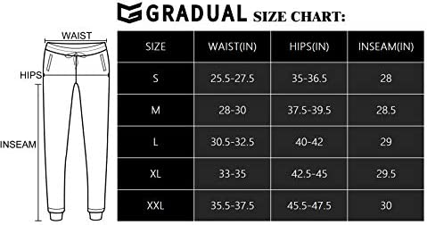G Gradual Women's Joggers Pants with Zipper Pockets Tapered Running Sweatpants for Women Lounge, Jogging 7