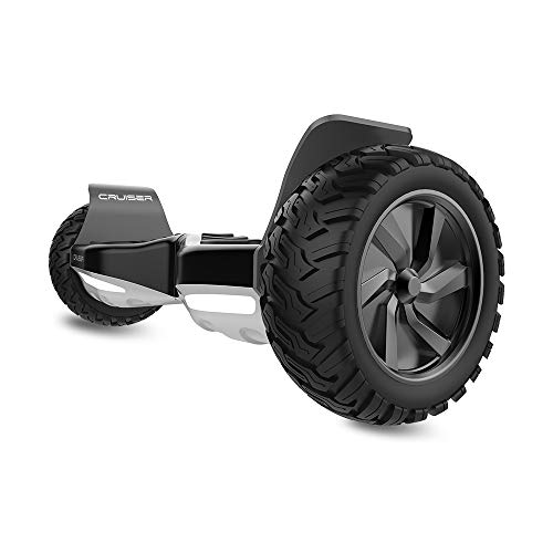 HYPER GOGO Hoverboard - Electric Smart Self Balancing Wheel Hoverboard Scooter - 8.5 Inch UL 2272 Certified IP54 Hover Board with Bluetooth Speakers,LED Lights,and Carry Bag – Black
