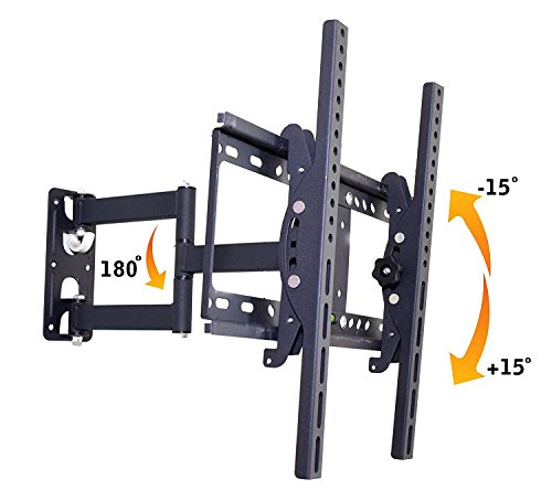 Alexvyan Iron Wall Mount Stand ( 32 40 42 46 52 55 inch) 180 Degree Rotatable LCD Plasma LED Bracket for TV 168