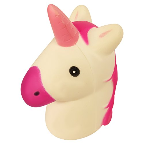 Squishy Unicorn Head : Squeezeland Slow Rising Squishies Unicorn Head Charm Kawaii Squishies for Kids and Adults Like a ...