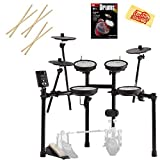 Roland TD-1K Electronic Drum Set Bundle with 3 Pairs of...