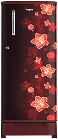 Whirlpool 190 L 3 Star Direct-Cool Single Door Refrigerator (WDE 205 ROY 3S WINE TWINKLE, Wine Twinkle)