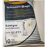 Sanyo Transformax Vacuum Bags - 10 pack - Generic