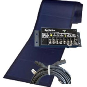 136 Watts Solar Battery Charger Kit for 24V batteries. Includes all major components.
