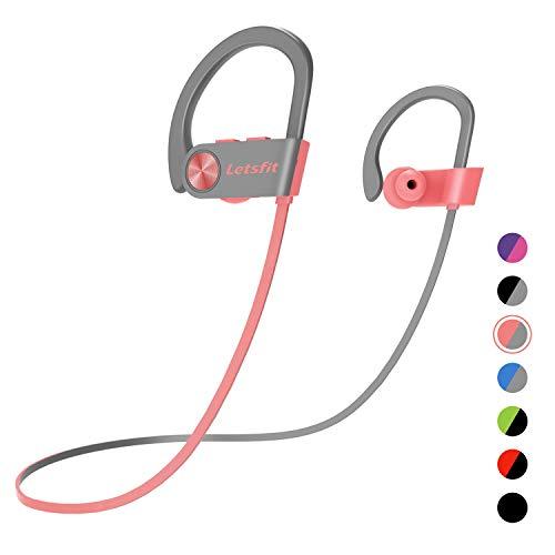 Bluetooth Headphones, Letsfit Wireless Headphones,...