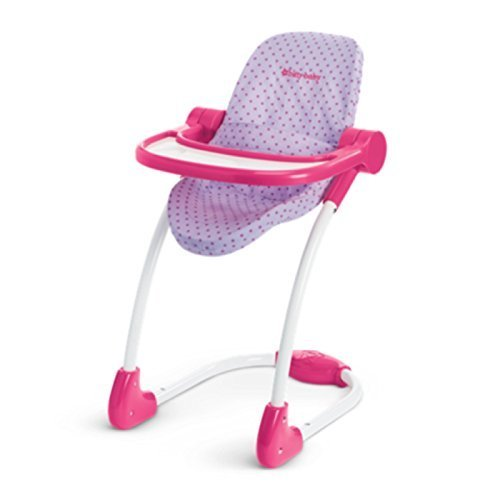 American Girl Bitty Baby High Chair for 15' Dolls (Doll Not Included)