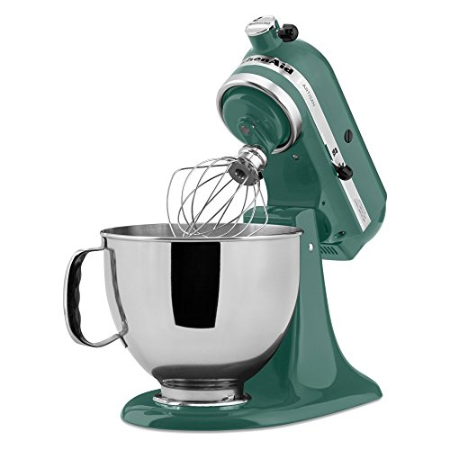 Kitchenaid ksm150psbl 5 qt artisan series stand mixer bay leaf alex shopping hub - Kitchenaid mixer bayleaf ...
