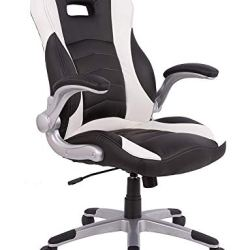 PC Gaming Chair Racing Office Computer Game Chair Ergonomic Office Chair Desk Chair with Adjustable Height and Armrest…