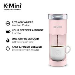 Keurig-K-Mini-Coffee-Maker-Single-Serve-K-Cup-Pod-Coffee-Brewer-6-to-12-Oz-Brew-Sizes-Dusty-Rose