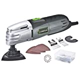Genesis GMT15A 1.5 Amp Multi-Purpose Oscillating Tool and Accessory Kit with Storage Box