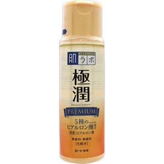 hada labo gokujyun premium lotion 5 different molecular weights hyaluronic acid