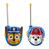 New PAW Patrol Walkie Talkies - Set of 2 Kids Walkie Talkies Chase and Marshall - Excellent Walkie Talkies for Toddlers