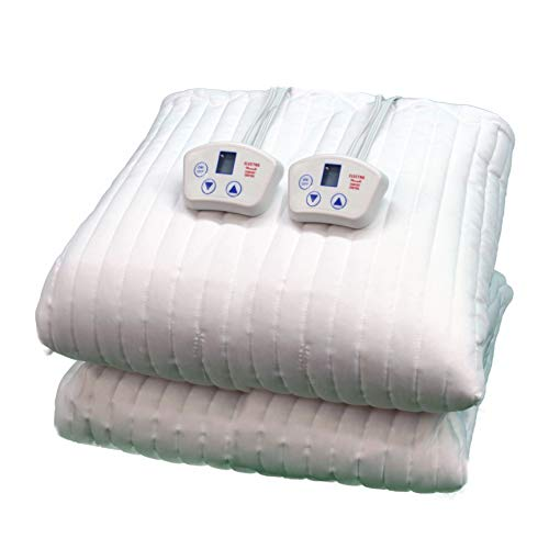 Electrowarmth M72Fxld California King-Long Two Controls Extra Long Heated Mattress Pad, 72-Inch by 84-Inch