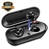 Wireless Earbuds, Upgraded Noise Cancelling Bluetooth Earbuds with 3D Stereo Sound Wireless Headphones Wireless Sport Earbud with Breathing Mini In-Ear Sports Earphones Car Headset with Mic for iPhone