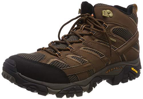 Merrell Men's Moab 2 Mid Gtx Hiking Boot, Earth, 13 M US