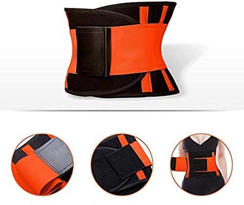 SCOBUTY Waist Trimmer,Waist Trimmer for Women and Men,Slimming Body Shaper Belt,Sport Girdle Belt, Comfortable Adjustable Waist Cincher Trimmer Weight Loss Belt,Back Support Sport Girdle Belt (4XL) 4
