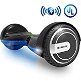 MEGAWHEELS Smart Hoverboard - UL Certified Safety Battery Colorful Led Lights Self-Balancing Hover Board