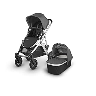 The VISTA stroller adapts to your growing family allowing for multiple configurations to transport up to 3 children- all while strolling like a single The 2018 collection features new luxurious fabrics and full-grain leather details to keep you strol...