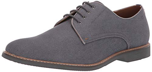 Steve Madden Men's Nevins Oxford Grey Fabric 9 M US