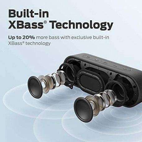 Enceinte-Bluetooth-Tribit-XSound-Go-12W-Haut-Parleur-Portable-sans-Fil-avec-Basse-Intense-Autonomie-de-24-Heures-IPX7-Etanche-Portee-Bluetooth-de-20-Metres-Micro-Integre-The-Telegraphs-Choice