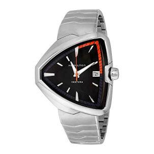 Hamilton Ventura Elvis80 Black Dial Stainless Steel Unisex Watch H24551131