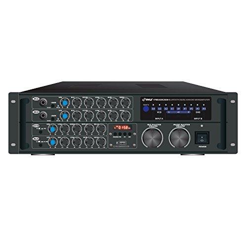 Pyle PRO PMXAKB2000 2000-Watt Bluetooth(R) Karaoke Amp