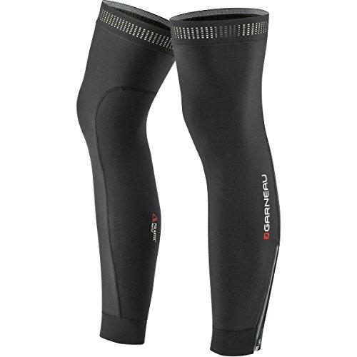 Louis Garneau Wind Pro Zip Leg Warmers, Black, Large