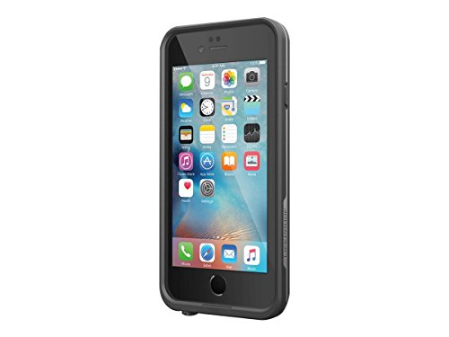 Lifeproof FRĒ SERIES iPhone 6/6s Waterproof Case (4.7' Version) - Retail Packaging - BLACK