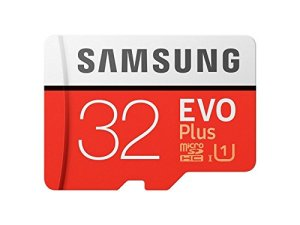 Samsung EVO Plus 32GB microSDHC UHS-I U1 95MB/s Full HD Memory Card with Adapter (MB-MC32GA)