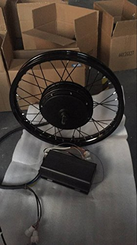 17 inch Motorcycle Wheel 3000W Electric Bike Conversion Kit with 48/60/72V 3000W Brushless DC motor/E-Bike Conversion Kit on sale