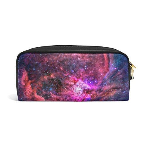 zzkko Universo Galaxy de piel con cierre Estuche bolígrafo artículos de papelería bolsa bolsa...