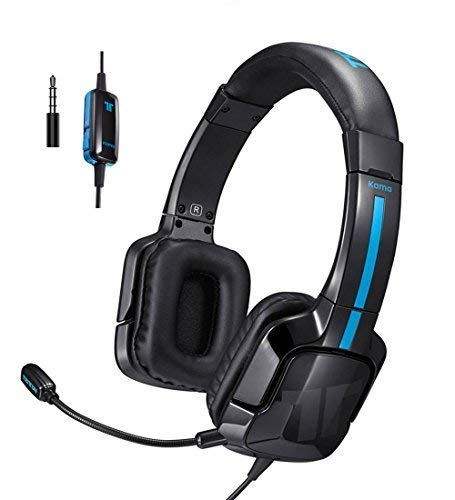TRITTON Kama Stereo Gaming Headset for PS4, Xbox One, Noise Cancelling Over Ear Headphones with Mic for Nintendo Switch