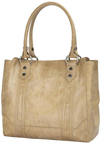 41fvZTwwj6L Antique pull up leather shoulder tote bag from Frye's best selling Melissa collection Magnetic Snap closure. Interior key fob Center zip divider, 1 interior zip pocket, 2 interior sleeve pockets