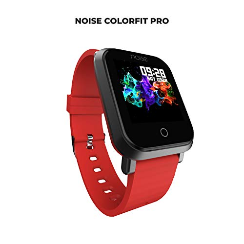 Noise ColorFit Pro Fitness Watch (Red)