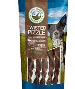 TevraPet Simply Country Naturals Pork Treats for Dogs