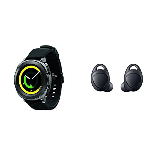 41g1zCj3NLL Gear Sport is swim-ready and water-resistant up to 50 meters. Get accurate, all-day fitness tracking, easy calorie entry and personal coaching. With Samsung Pay NFC compatibility, easily make a payment from your wrist.
