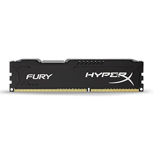 Kingston HyperX FURY 4GB 1866MHz DDR3 CL10 DIMM - Black (HX318C10FB/4)