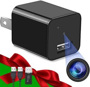 Hidden Camera Spy Camera Charger Full HD 1080P Surveillance Camera Mini Spy Nanny Camera Portable Hidden Cam 2021