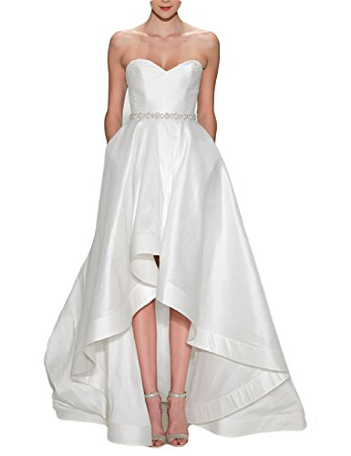 41g3zR42swL Notice: Please have a refernece for our own size chart NOT AMAZON SIZE CHART Features: Fashion Wedding Dress is more popular Size: To make your dress fittest and perfect for you, we suggest you choose customize the dress and send your proper measurements (such as Bust, Waist, Hips, your Height, Shoes Height) via E-mail ASAP, then we can arrange manufacture and delivery earlier.