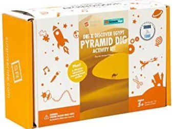 Fat Brain Toys Surprise Ride - Dig & Discover Egypt Activity Kit History & Geography for Ages 5 to 10