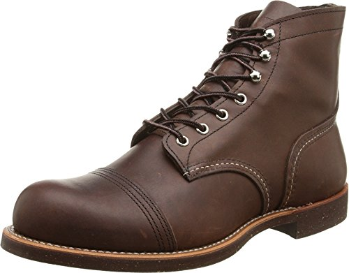 Red Wing Heritage Iron Ranger 6-Inch Boot, Amber Harness, 13 D(M) US