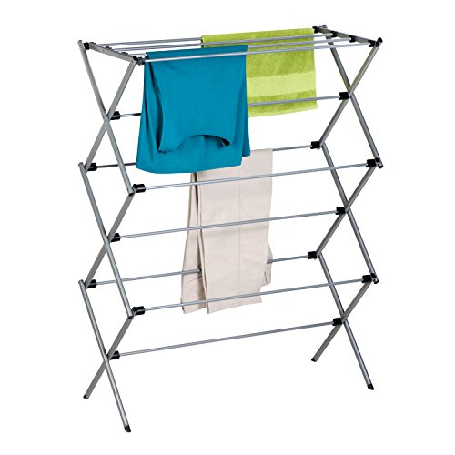 Honey-Can-Do DRY-02119 Folding Drying Rack, 45-Inch Tall