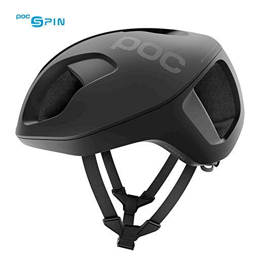 POC Ventral Spin, Cycling Helmet, Uranium Black Matte, M
