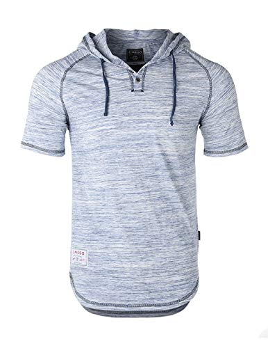 ZIMEGO Men's Contrast Short Sleeve Round Bottom Raglan Hoodie Henley T-Shirts 1 Fashion Online Shop Gifts for her Gifts for him womens full figure