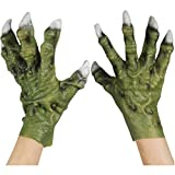 Loftus International Star Power Monster Hands with Thick Fingers Gloves, Green, One-Size Novelty Item